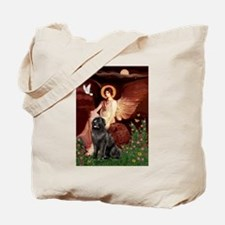 Seated Angel /Newfoundland Tote Bag