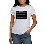 WARNING...Ethiopia Women's T-Shirt