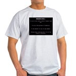 WARNING...Ethiopia Light T-Shirt