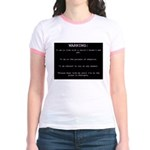 WARNING...Ethiopia Jr. Ringer T-Shirt