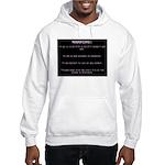 WARNING...Ethiopia Hooded Sweatshirt