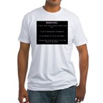 WARNING...Ethiopia Fitted T-Shirt