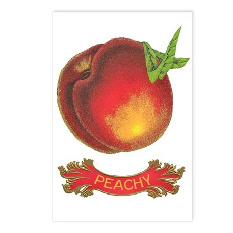 Peachy Postcards (Package of 8)