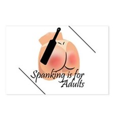 Spanking is for Adults Postcards (Package of 8)