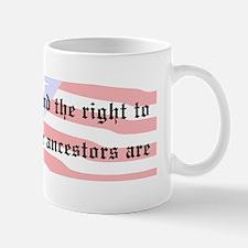 Genealogists Rights Mug