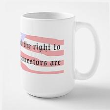 Genealogists Rights Large Mug