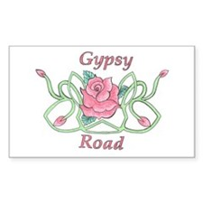 Gypsy Road Logo Rectangle Decal