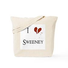 I heart Sweeney Tote Bag