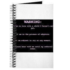 WARNING...General Adoption Journal