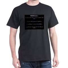 WARNING...General Adoption T-Shirt
