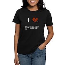 I heart Sweeney (Dark) Tee
