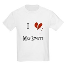 I heart Mrs. Lovett T-Shirt