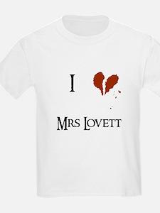 I heart Mrs. Lovett T-Shirt