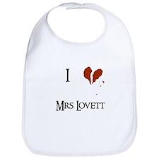 I heart Mrs. Lovett Bib