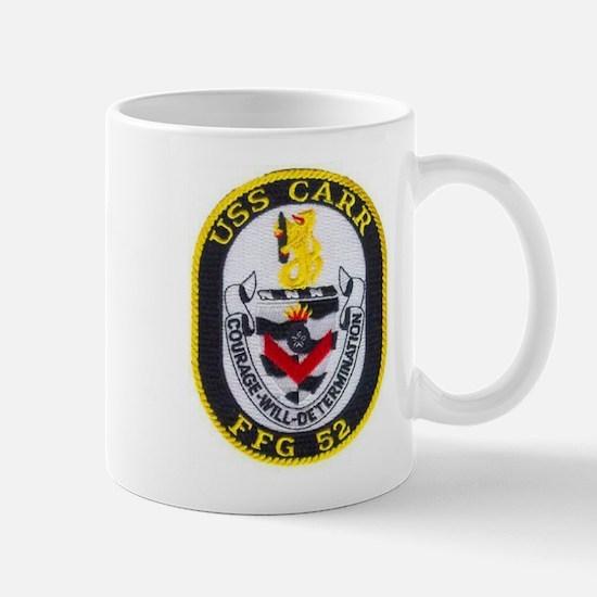 USS CARR Mug