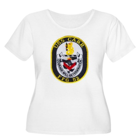 USS CARR Women's Plus Size Scoop Neck T-Shirt