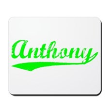 Vintage Anthony (Green) Mousepad