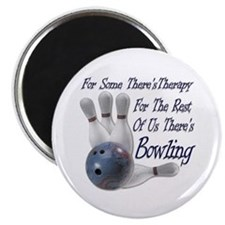 Bowling Therapy Magnet