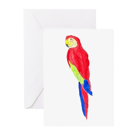 Parrot Greeting Cards (Pk of 10)