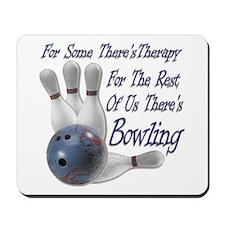Bowling Therapy Mousepad