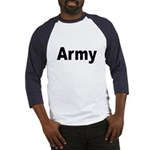 Army (Front) Baseball Jersey