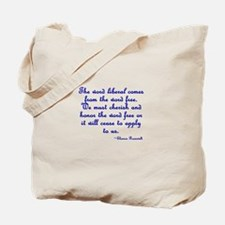 The Word Liberal Tote Bag