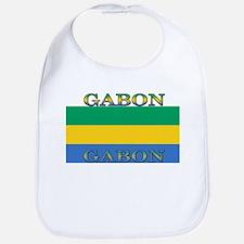 Gabon Gabonese Flag Bib