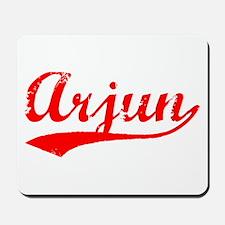 Vintage Arjun (Red) Mousepad