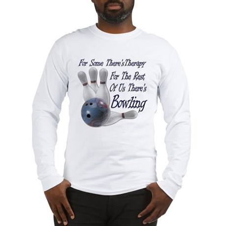 Bowling Therapy Long Sleeve T-Shirt
