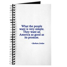 What People Want Journal