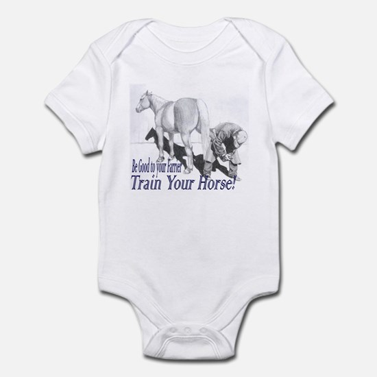 Be good to your Farrier Infant Bodysuit