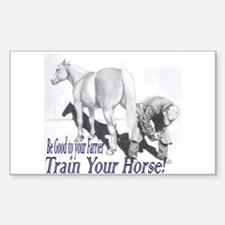 Be good to your Farrier Rectangle Decal