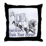 Be good to your Farrier Throw Pillow
