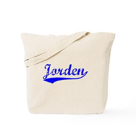 Vintage Jorden (Blue) Tote Bag