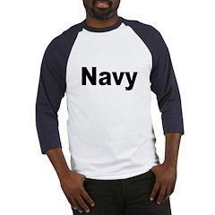 Navy (Front) Baseball Jersey