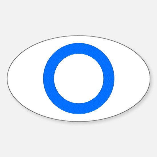 Diabetes Oval Decal