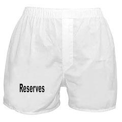 Reserves Boxer Shorts