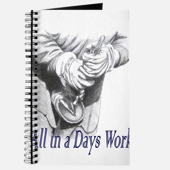 All in a Days Work Journal
