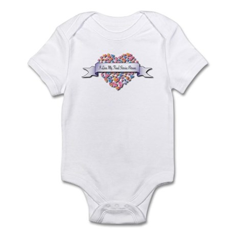 Love My Food Service Person Infant Bodysuit