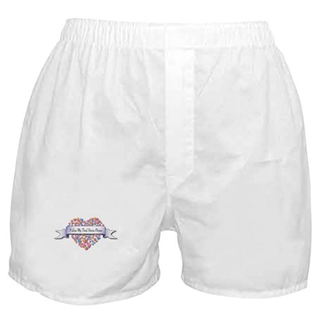 Love My Food Service Person Boxer Shorts
