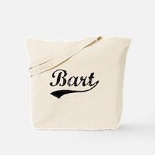 Vintage Bart (Black) Tote Bag