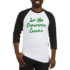 Behold My Esperanto Baseball Jersey