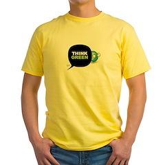 Think Green v3 Yellow T-Shirt