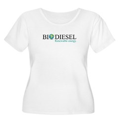 Biodiesel Women's Plus Size Scoop Neck T-Shirt