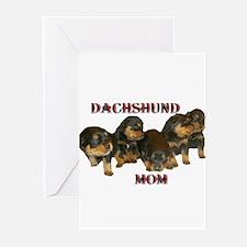 Dachshund Mom Greeting Cards (Pk of 10)