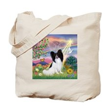 Cloud Angel & Papillon Tote Bag