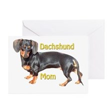 Dachshund Mom Greeting Cards (Pk of 20)
