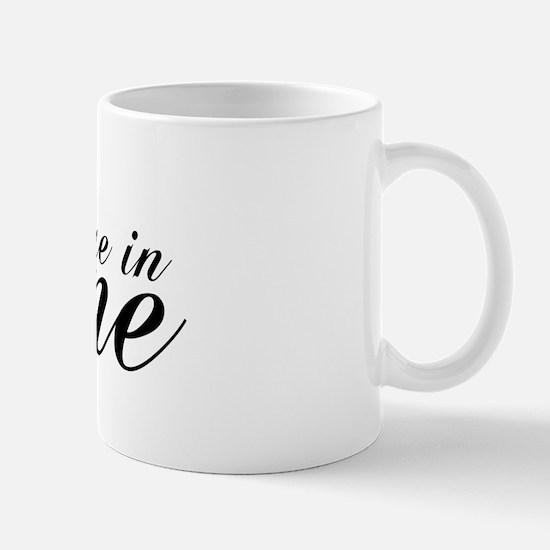 Due In June - Chopin Script Mug