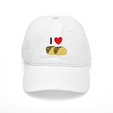 I Love Tacos Baseball Cap