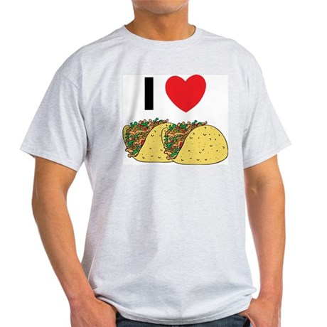 I Love Tacos Light T-Shirt